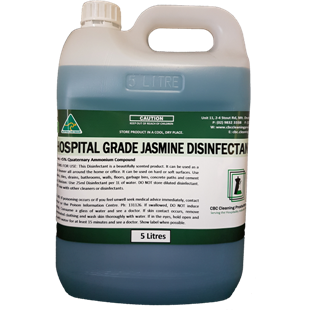 Hospital Grade Disinfectant - Jasmine - CBC Cleaning Products Pty Ltd.