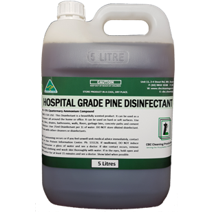 Hospital Grade Disinfectant - Pine - CBC Cleaning Products Pty Ltd.