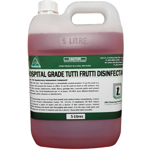 Hospital Grade Disinfectant - Tutti Frutti - CBC Cleaning Products Pty Ltd.