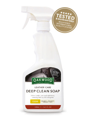 LEATHER CARE DEEP CLEAN SOAP 500ml