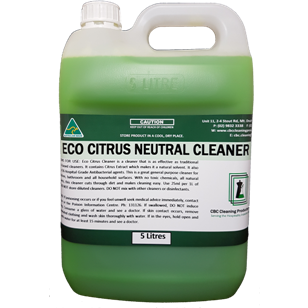 Eco Citrus Neutral Cleaner - CBC Cleaning Products Pty Ltd.
