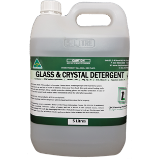 Glass & Crystal Machine Detergent - CBC Cleaning Products Pty Ltd.