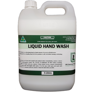 Liquid Hand Wash - Coconut - CBC Cleaning Products Pty Ltd.
