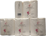 2 Ply Kitchen Paper Roll Towels - 24 Rolls A&C