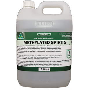 Methylated Spirits - CBC Cleaning Products Pty Ltd.