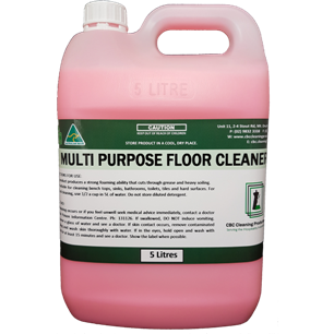 Multi Purpose Floor Cleaner - CBC Cleaning Products Pty Ltd.