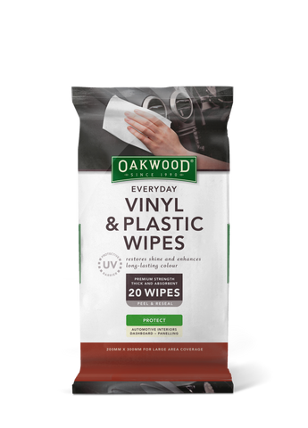 EVERYDAY VINYL & PLASTIC WIPES 20pk