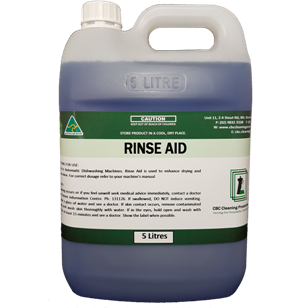 Rinse Aid - CBC Cleaning Products Pty Ltd.