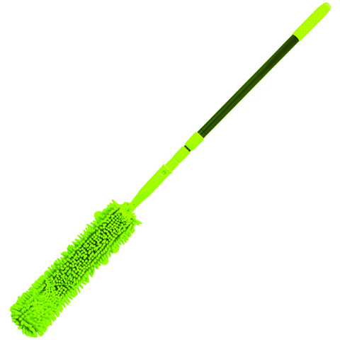 Flexible Microfingers Duster with Extendable Handle - CBC Cleaning Products Pty Ltd.