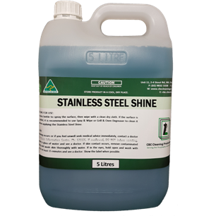 Stainless Steel Shine - CBC Cleaning Products Pty Ltd.