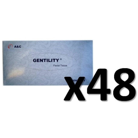 2 Ply Facial Tissues - Gentility - CBC Cleaning Products Pty Ltd.