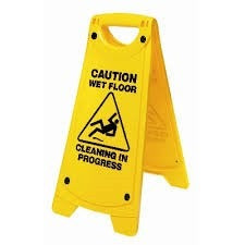 Wet Floor Caution A Sign - CBC Cleaning Products Pty Ltd.