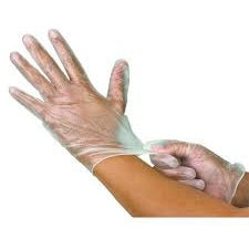Vinyl Gloves, Powder Free 100/Box - CBC Cleaning Products Pty Ltd.