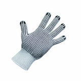Polycotton Gloves with Black PVC Dots - CBC Cleaning Products Pty Ltd.