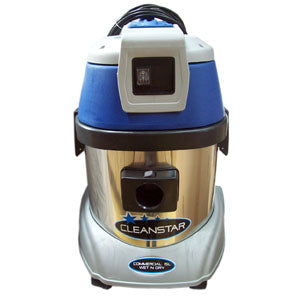 Cleanstar 15L Stainless Steel Wet & Dry Vac - CBC Cleaning Products Pty Ltd.