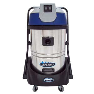 Cleanstar 60L Stainless Steel Wet & Dry Vac - CBC Cleaning Products Pty Ltd.