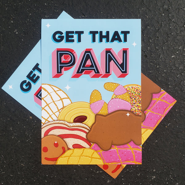 Get That Pan (Limited Edition Print)