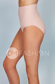 High Waist Bottom - Seashell Pink