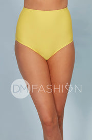 High Waist Bottom - Buttercup Yellow