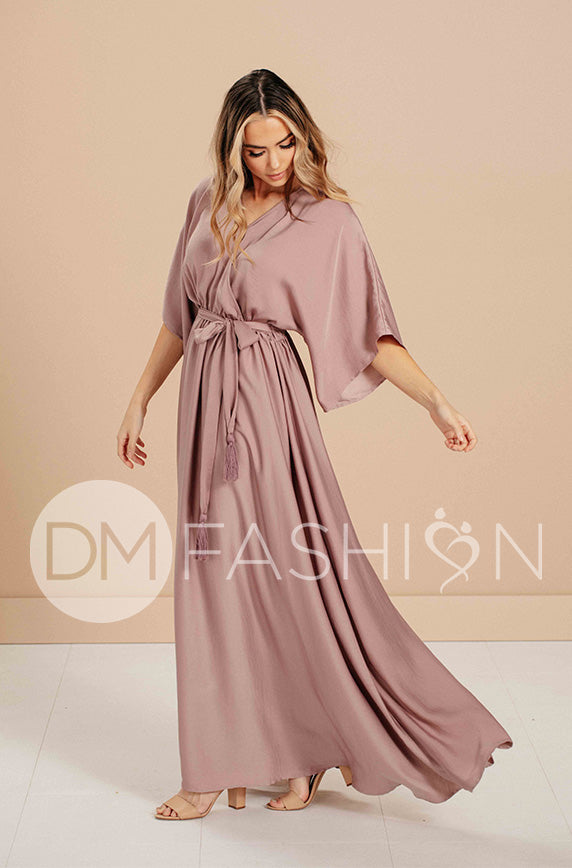 Venus Misty Mauve Maxi - DM Exclusive - Nursing Friendly