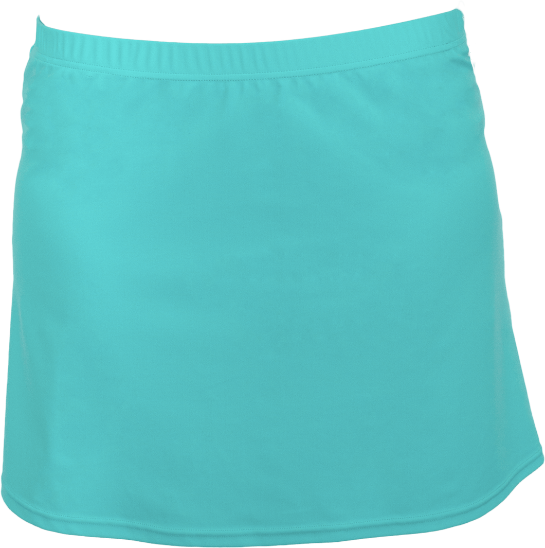 Tennis Skirt - Aqua - FINAL SALE - DM Fashion