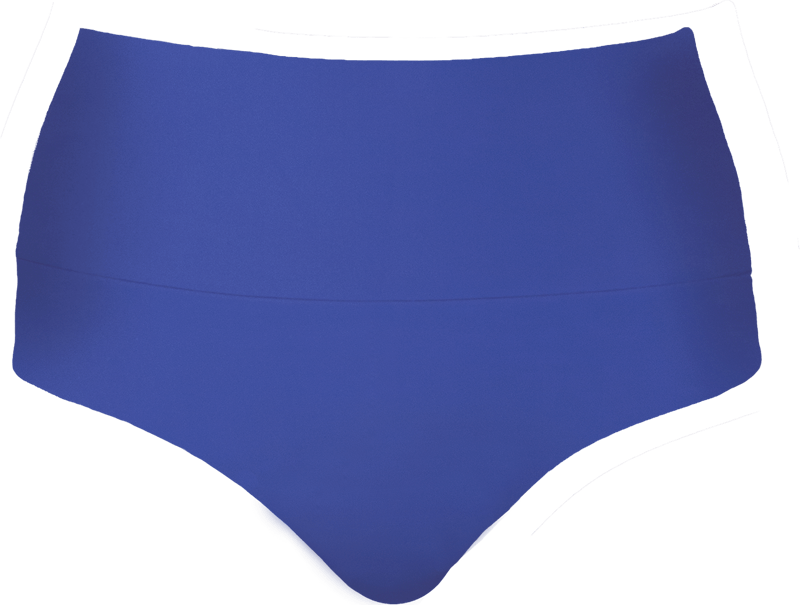 Banded Midrise - Royal Blue - FINAL SALE - DM Fashion