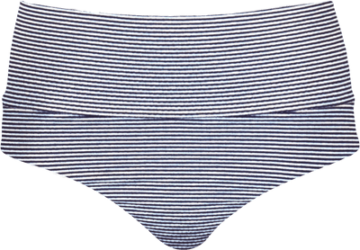 Banded Midrise - Nautical Blue Stripe - FINAL SALE - DM Fashion