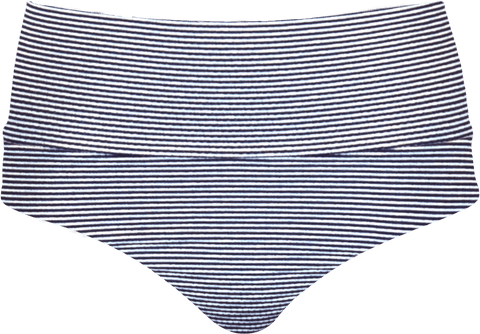 Banded Midrise - Nautical Blue Stripe - DM Fashion