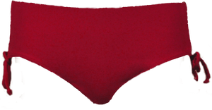 Ruched Bikini - Red - FINAL SALE - DM Fashion