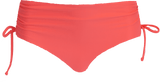 Ruched Bikini - Sunrise Coral