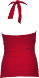 Flounce Halter - Red