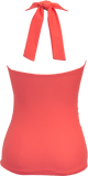 Flounce Halter - Sunrise Coral - DM Fashion