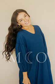 Scarlett Midnight Blue Dress - MCO
