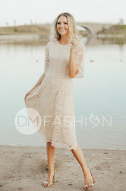 Lillian Champagne Dress - DM Exclusive