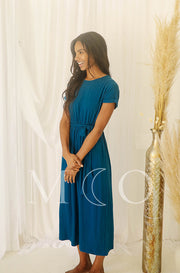 Shaunie Deep Sea Blue Dress - MCO