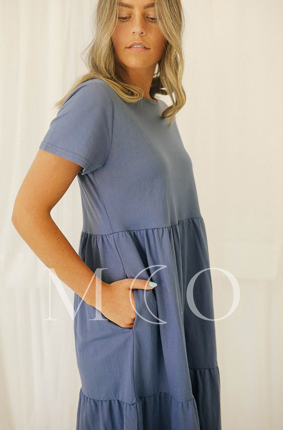 Kelsey Denim Dress - MCO
