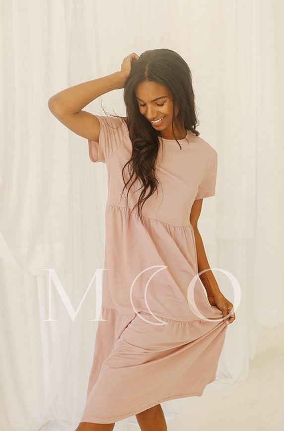 Kelsey Rose Dress - MCO - Preorder