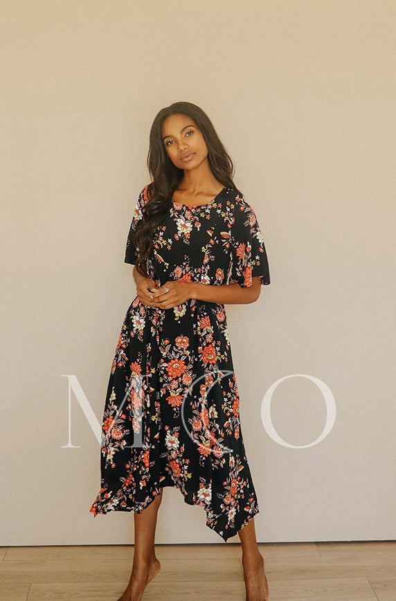 Chloé Autumn Floral Dress - MCO - Preorder