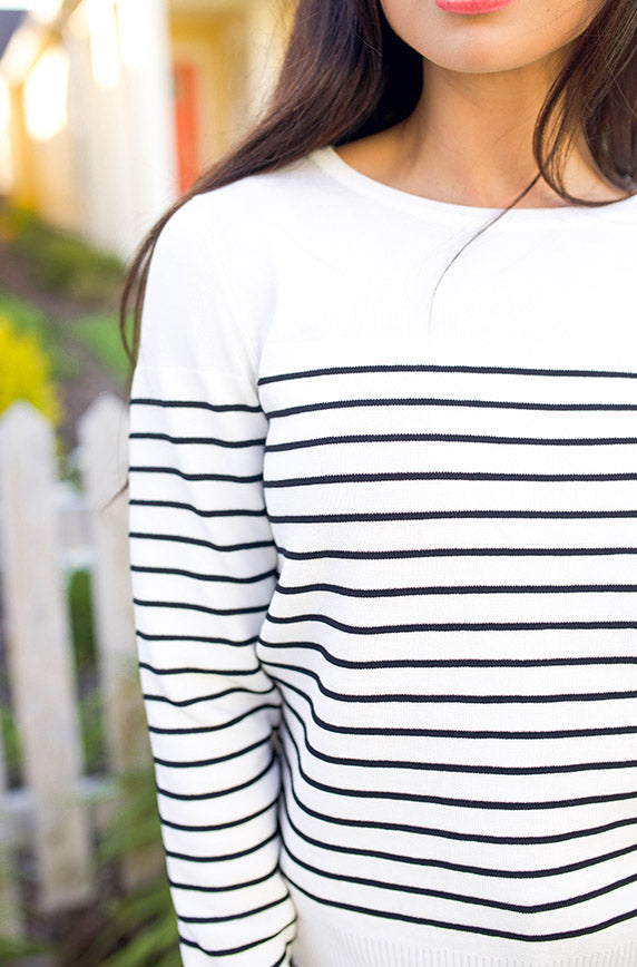Pepper Stripe Sweater - FINAL SALE