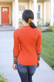 Samba High Neck Sweater - FINAL SALE