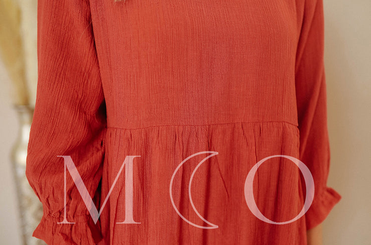 Mary Rust Dress - MCO