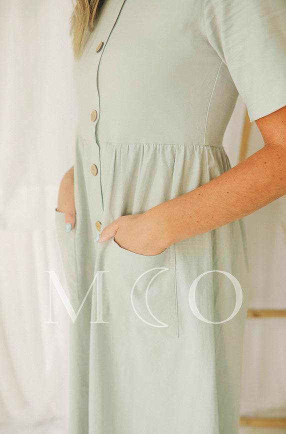 Robin Ice Gray Dress - MCO