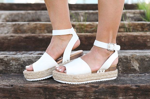 Daniella Off White Platforms