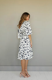 Anna Spotted Tiered Dress - FINAL SALE