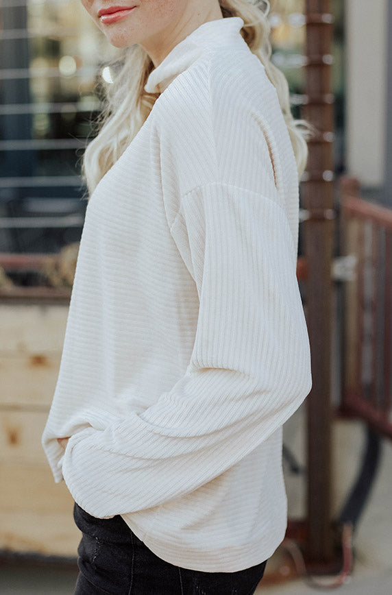 Knox Cream Sweater