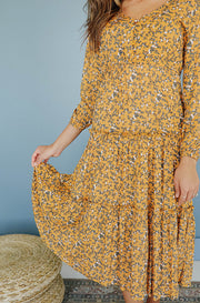 Carmen Floral Dress - Nursing Friendly - Restocked