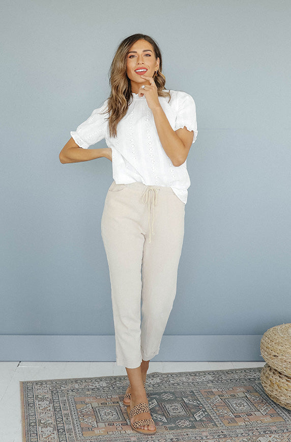 It's Casual Beige Pant