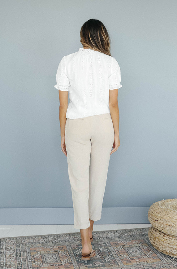 It's Casual Beige Pant - FINAL FEW