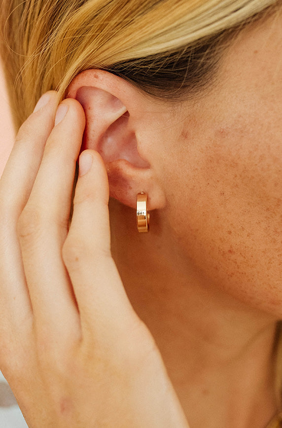 Gold Cuff Earrings - FINAL SALE