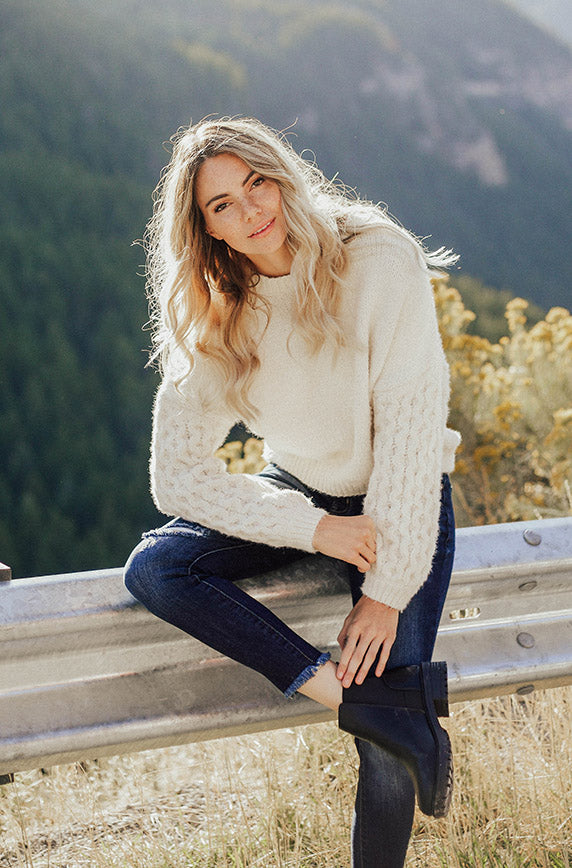 Burton Ivory Sweater